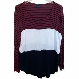 Women's Rue+ blouse, size 2x, long sleeve